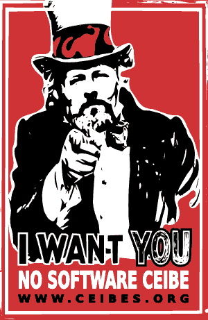 I want YOU no Software Ceibe